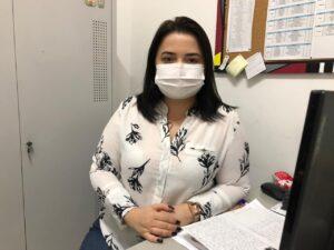 Diretora de Atenção Primária de Petrolina, Lorena Andrade.